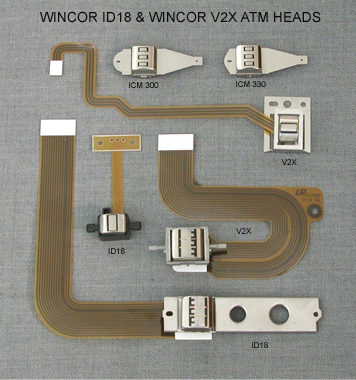 Wincor ID18 and V2X ATM Heads